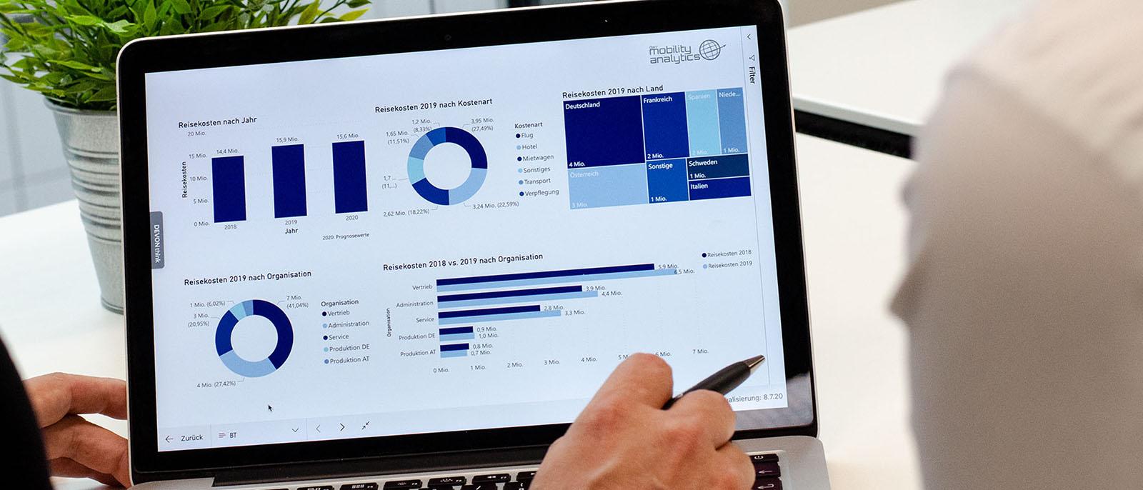 Data analytics und Business intelligence mit darr mobility concepts