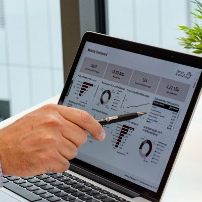Corporate Mobility Management Dashboard